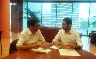 La línia de bus Igualada-Barcelona renovarà els vuit vehicles de la seva flota