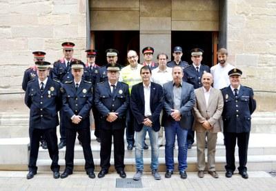 La Policia Local celebra Sant Rafel