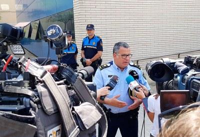 La Policia Local d'Igualada investiga un atropellament al Pont de Montbui