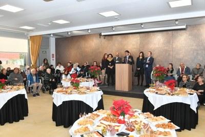 La Residència Pare Vilaseca estrena la nova sala polivalent