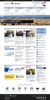 L'Ajuntament estrena nou web