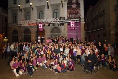 L'Ajuntament felicita els Moixiganguers pel primer castell de 9