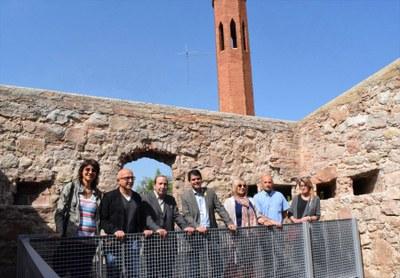 L'Ajuntament finalitza la reforma del Fort de Sant Magí