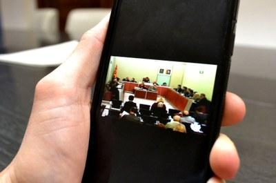 L'Ajuntament ofereix la transmissió dels plens en streaming