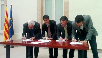 L'alcalde d'Igualada signa la denúncia internacional pel 9N