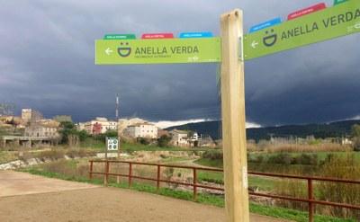 L'Anella Fluvial, primer circuit de l'Anella Verda