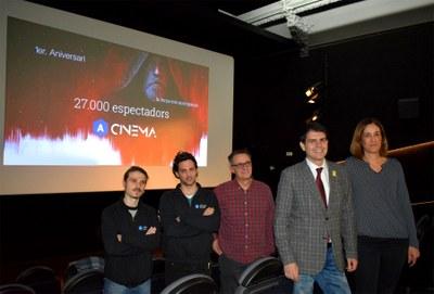 L'Ateneu Cinema ha rebut 27.000 espectadors durant el seu primer any