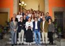 Lliurament de la medalla de la corporació a Àngels Chacón
