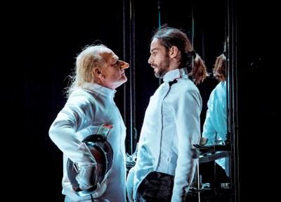 Lluís Homar interpreta 'Cyrano' al Teatre Municipal l'Ateneu