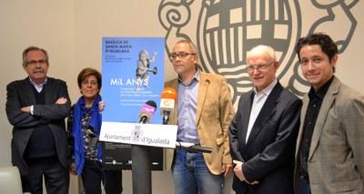 L'oratori 'Mil anys' torna a Santa Maria