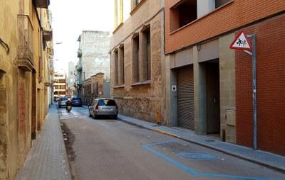 Millora de l'accessibilitat als carrers Esquiladors i Mariano Cuyner