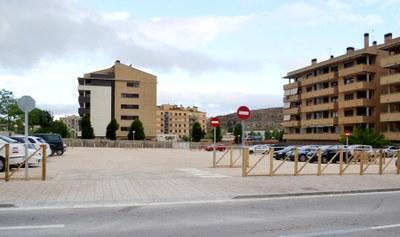 Nova zona blanca al carrer Comarca