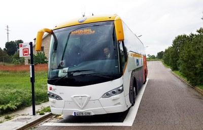 Noves parades de bus interurbà a Sesoliveres
