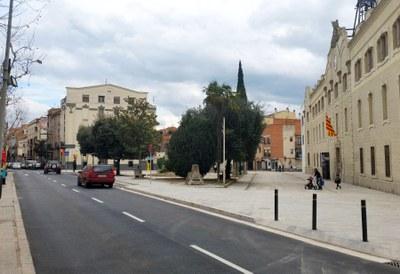 Segona i definitiva fase de reformes de la Plaça Castells