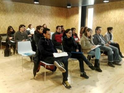 Seminari de polítiques mediambientals a l'Adoberia Bella