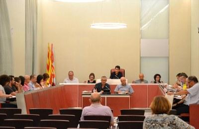Sessió ordinària de ple, juliol de 2017