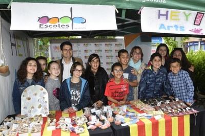 Setè mercat de cooperatives escolars a Igualada