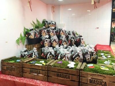 Sorteig de paneres de Nadal a La Masuca