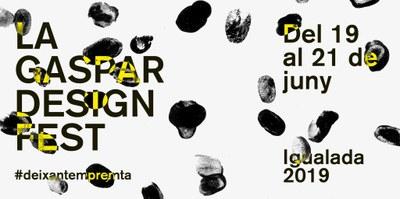 Tot a punt per una nova edició de 'La Gaspar Design Fest'
