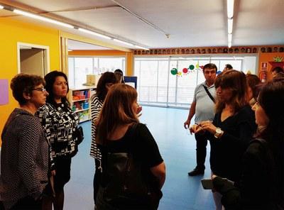 Una delegació d'Aksakovo coneix els serveis socials d'Igualada