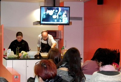 Vuit nous cursos de cuina al Mercat de la Masuca