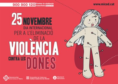 25N: Dia Internacional per l'Eliminació de la Violència contra les Dones