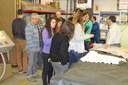 L'Escola Municipal d'Art Gaspar Camps visita l'empresa BASF d'Hospitalet de Llobregat