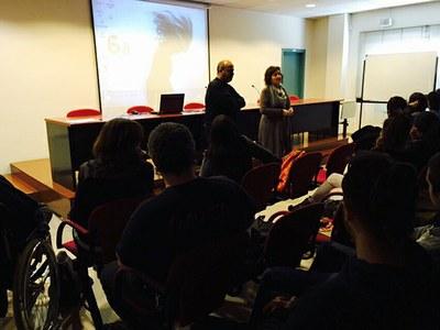 Presentació dels projectes de la VI Setmana de l'Animació de l'Escola Municipal d'Art Gaspar Camps