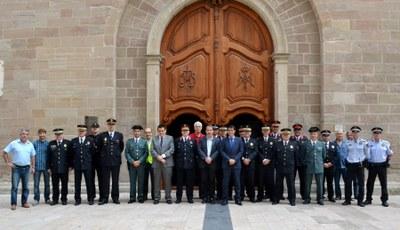 Celebració de Sant Rafel, patró de la Policia Local
