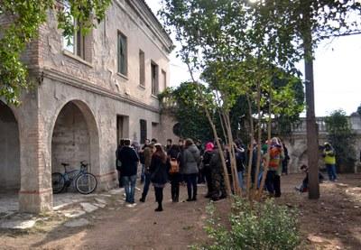 Les entitats visiten Cal Badia