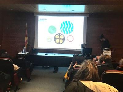 Els alumnes de La Gaspar presenten els seus avant-projectes a l'empresa Ceràmiques Marcó al Departament d'Ensenyament