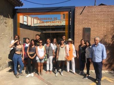 Els alumnes de pell de LaGaspar visiten el Museu de la Pell.