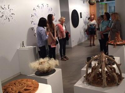 Exposició dels alumnes de Dibuix, Pintura i Escultura de l'Escola d'Art