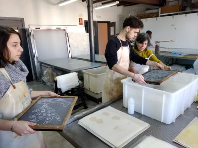 La Gaspar participa als 'LABORATORIS ART - PAPER'