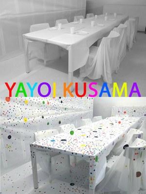 Yayoi Kusama inunda de punts els espais de 'La Gaspar' dins el Casal de l'Estiuart