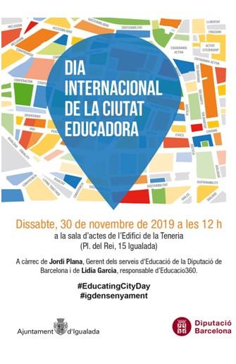 Dia internacional de la ciutat educadora
