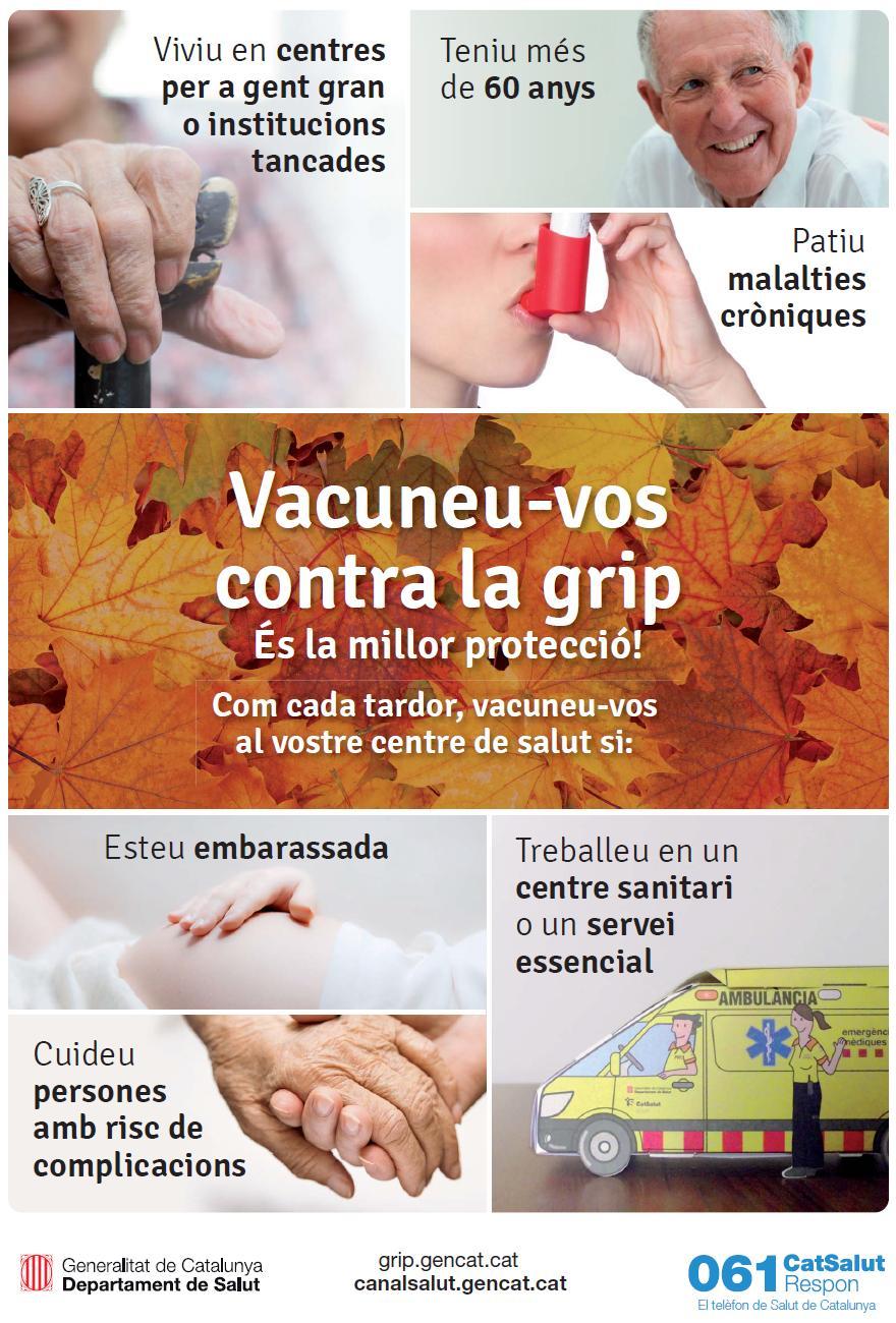 vacunació antigripal 2014
