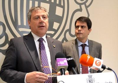 Subvenció de 160.000 euros per al transport urbà