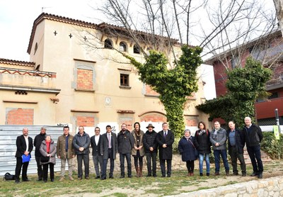 21 municipis fan costat a APINAS en el seu projecte a Cal Salinas