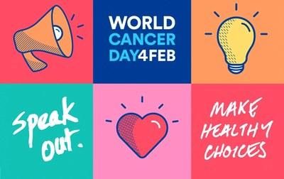 4 de febrer, Dia Mundial contra el Càncer