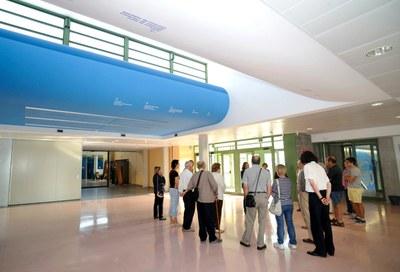 500 visitants al nou Campus Universitari