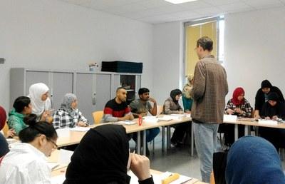 60 persones als nous cursos d'alfabetització en català
