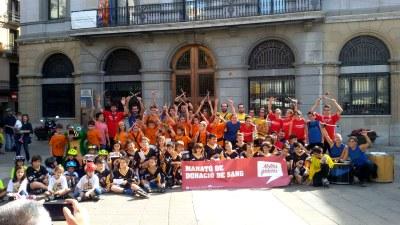 649 donants de sang a la marató d'Igualada