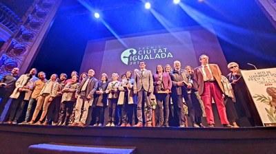 Acte de lliurament de la 24a edició dels Premis ciutat d'Igualada