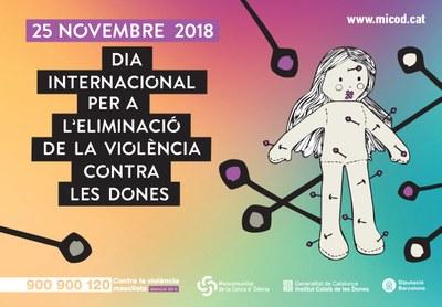 Actes a la Conca d'Òdena per commemorar el 25N