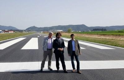 Aeroports finalitza l'adequació de l'aeròdrom d'Igualada-Òdena