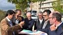 Ajuntament i Generalitat analitzen el projecte de l'enllaç amb la Ronda Sud