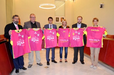 Ajuntament i IHC, junts contra el càncer de mama