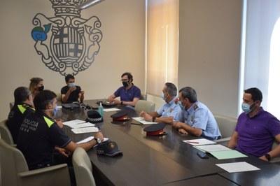 Ajuntament, Policia Local i Mossos d'Esquadra coordinen actuacions contra l'incivisme