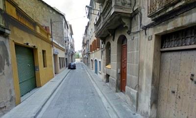 Ampliació de voreres als carrers Sant Carles i Sant Josep